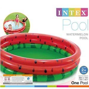 "NIB Intex 66"" Round Watermelon Kiddie Pool"